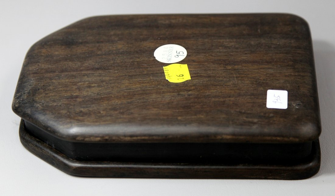 19: INKSTONE IN WOOD BOX