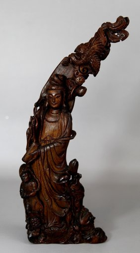 HORN FIGURE OF GUAN YIN