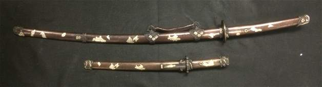 ONE SET OF JAPANESE SWORD