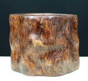 Huang-hua-li Wood Brush Pot
