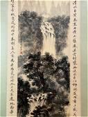 Fu Baoshi ; Chinese Painting & Scroll