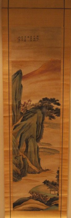 3: Chinese antique watercolor on scroll