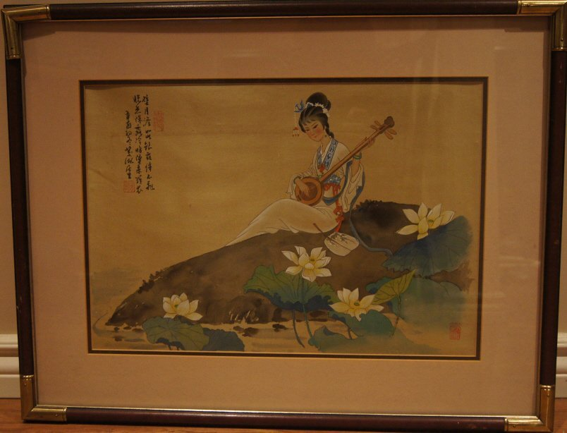 11: Chinese antique water color on paper