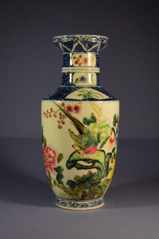 Chinese antique porcelain vase, 19th C