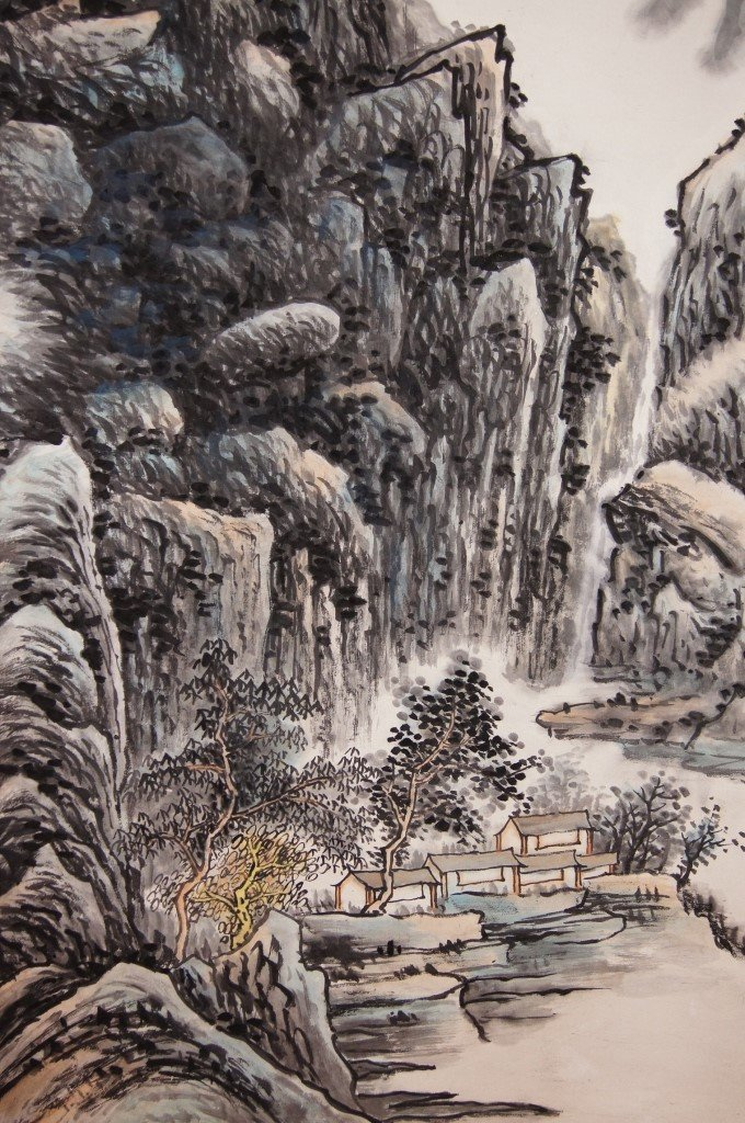 Huang Binhong 黃賓虹 Chinese antique - 3
