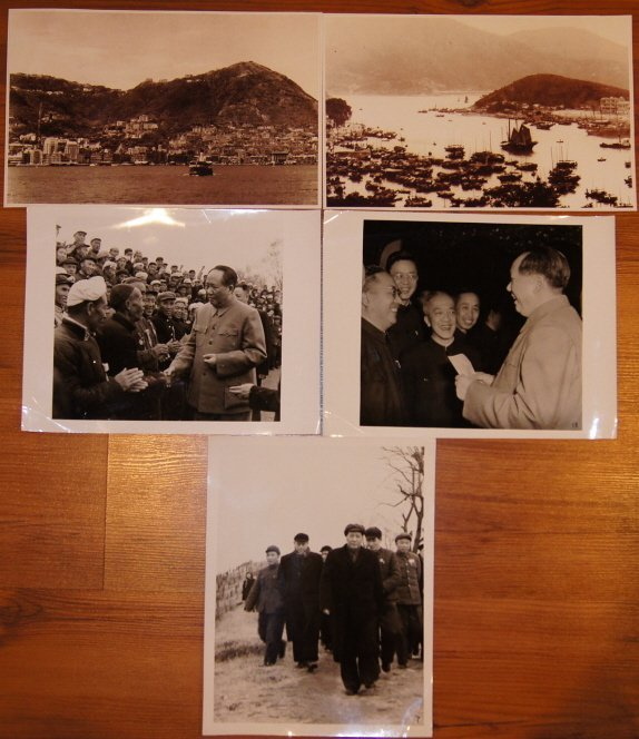 5 PCS Chinese Old photos in 50/60's