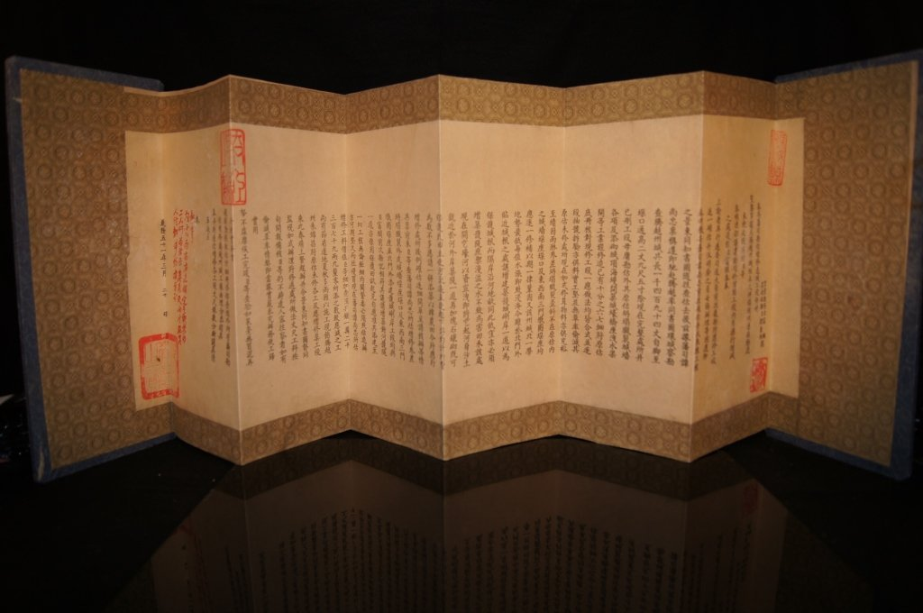 Chinese antique Calligraphy in hard cover