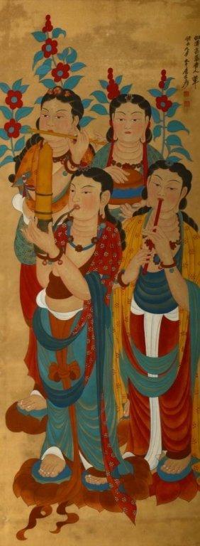 Zhang DaQian ; Chinese Scroll Painting