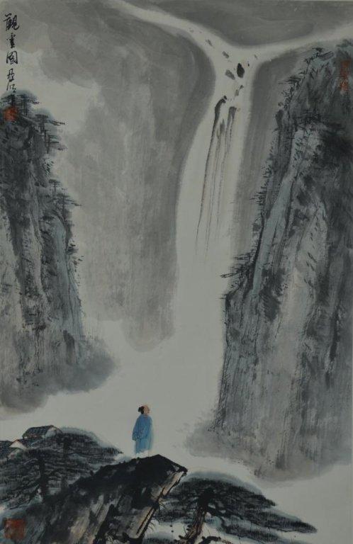 Ya Ming ;  Chinese Scroll Painting