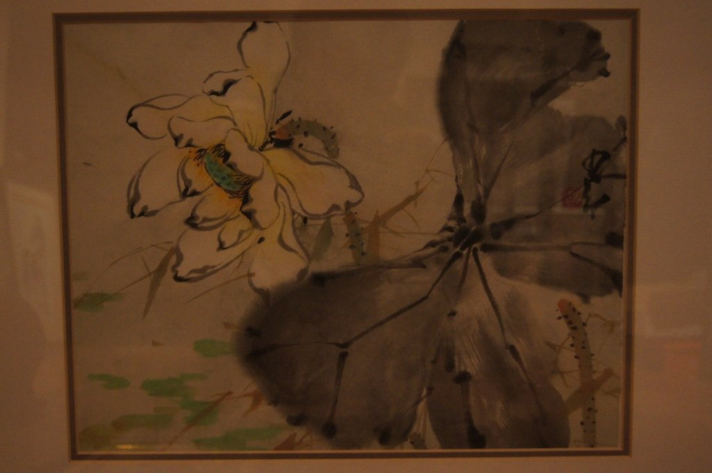 Zhoa shao-ang ; Chinese antique water color