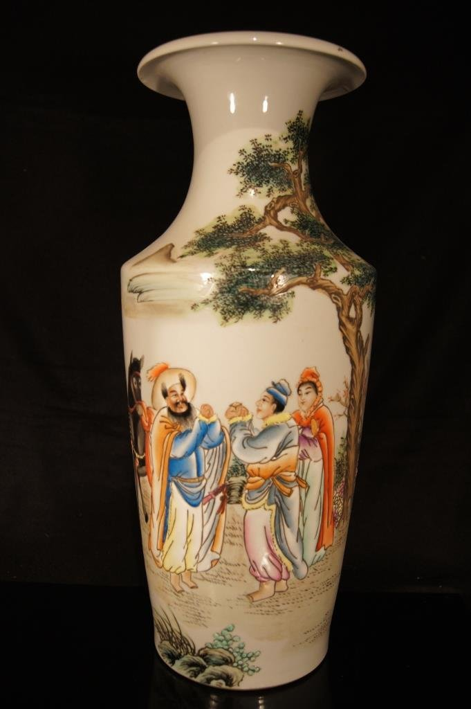Chinese Republic period tall vase