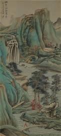 Chinese Scroll Painting  ;  Zhang DaQian