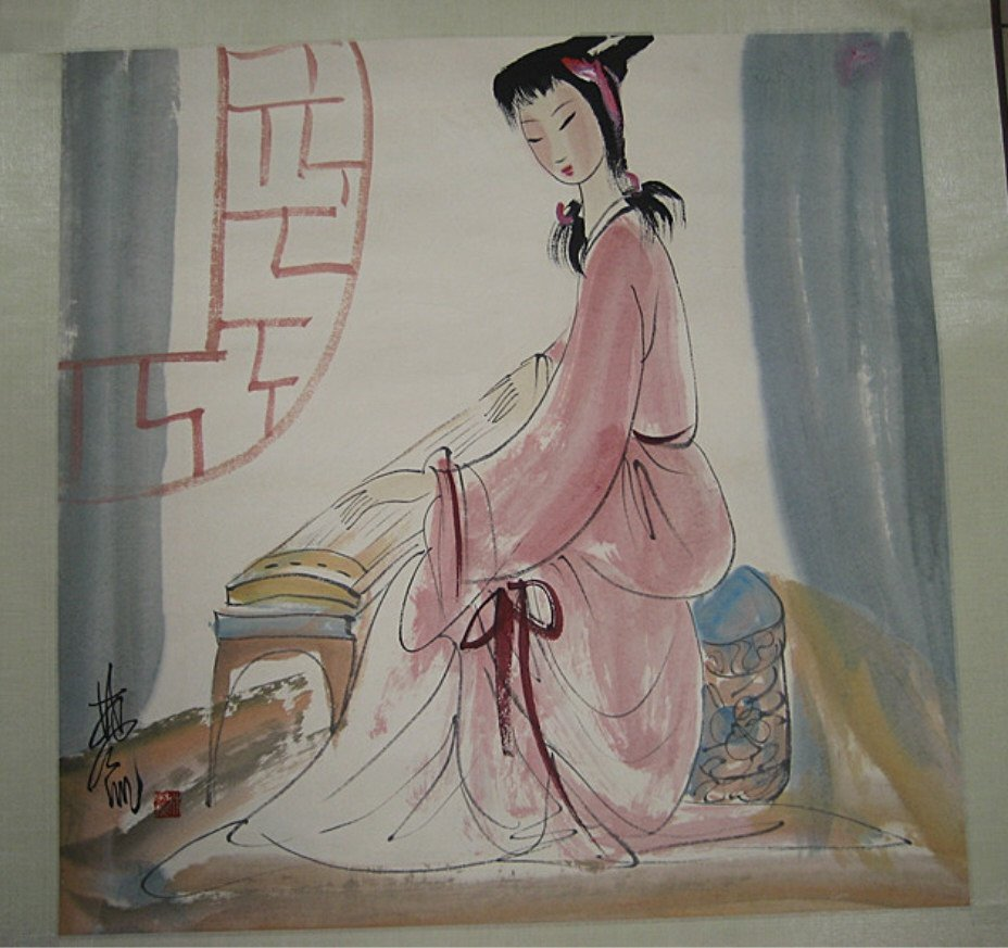 Lin Fengmian ; Chinese Painting&Scrolls