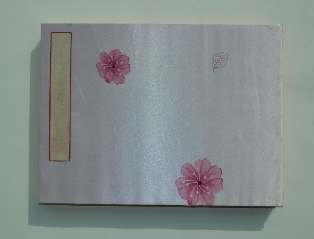 Wu Guanzhong ; Chinese water color booklet