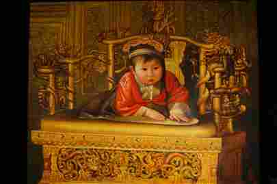 """Chinese Oil on canvas by """"Jin ShangYi"""""""