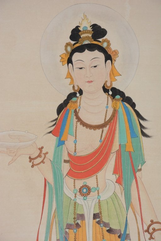Chinese Scroll Painting ;signed Zhang Daqian - 4