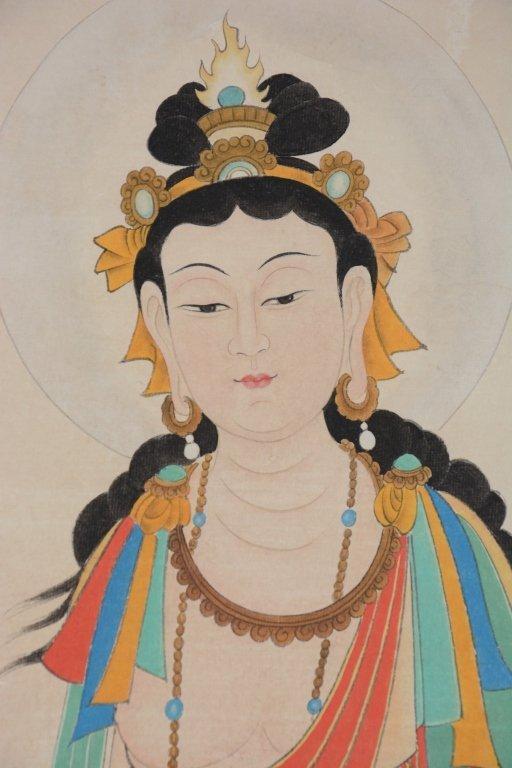 Chinese Scroll Painting ;signed Zhang Daqian - 5