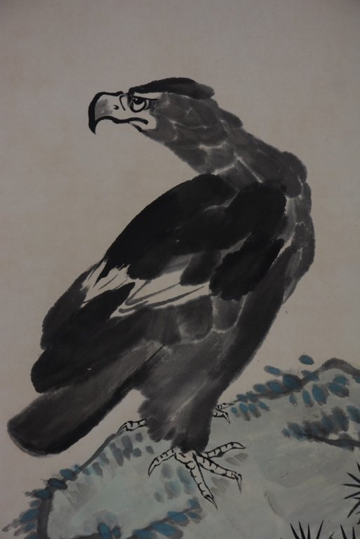 Chinese Scroll Painting ;signed Li Kuchan - 3