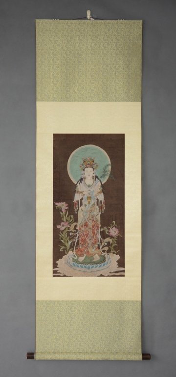 Chinese Scroll Painting ; signed Yi Ming