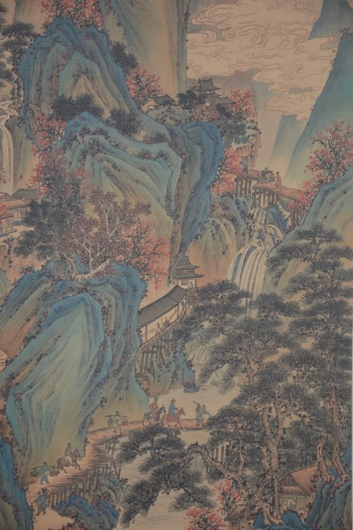 Chinese Scroll Painting ; signed Wang Hui - 3
