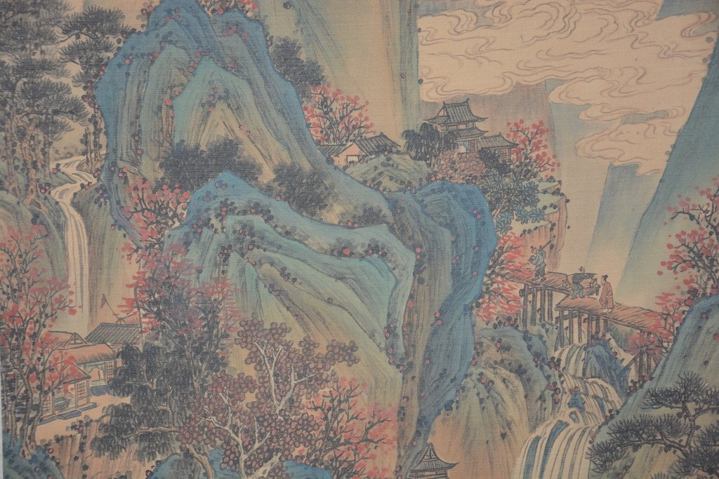 Chinese Scroll Painting ; signed Wang Hui - 5