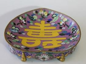 Chinese Cloisonne Bowl  From estate of collector that
