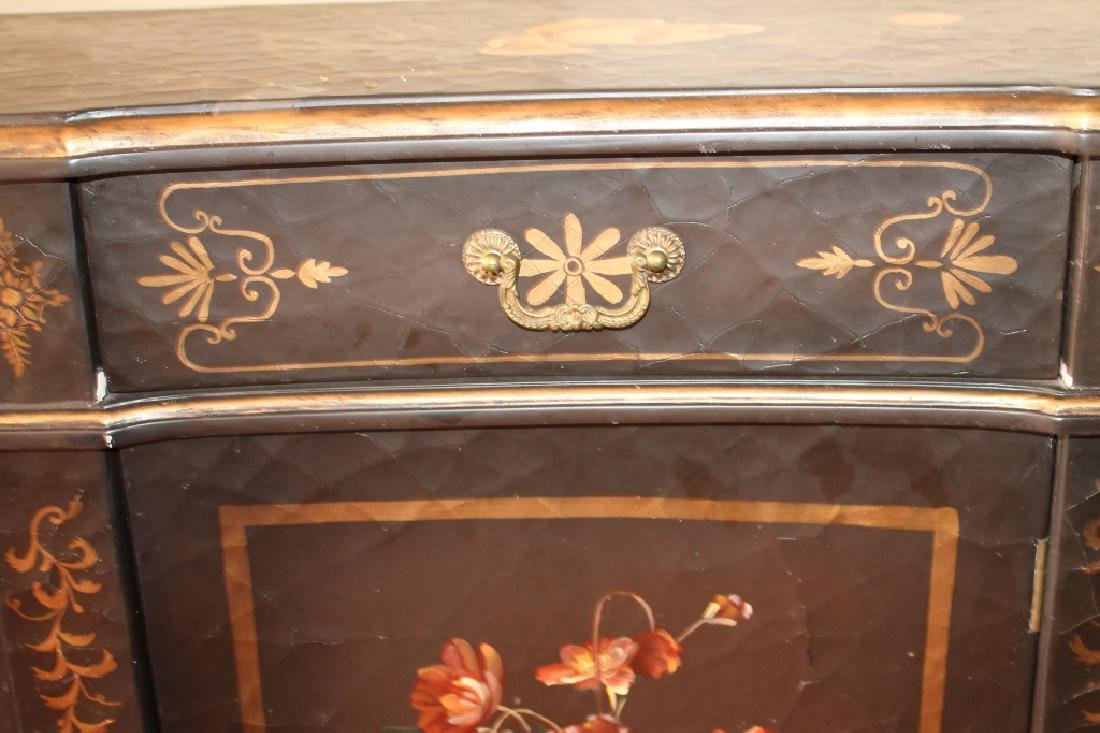 Chinese Lacquer Cabinet - 2