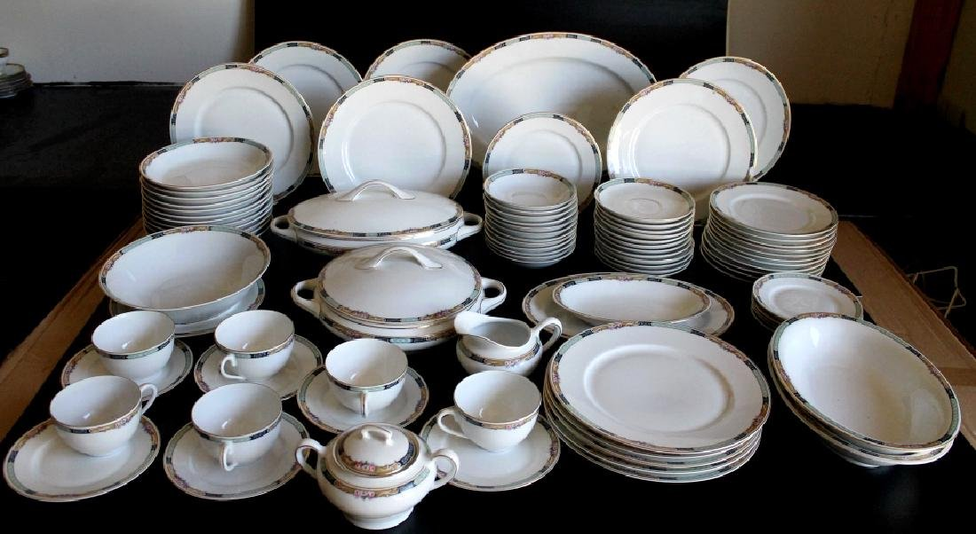 Large KPM Germany China Set