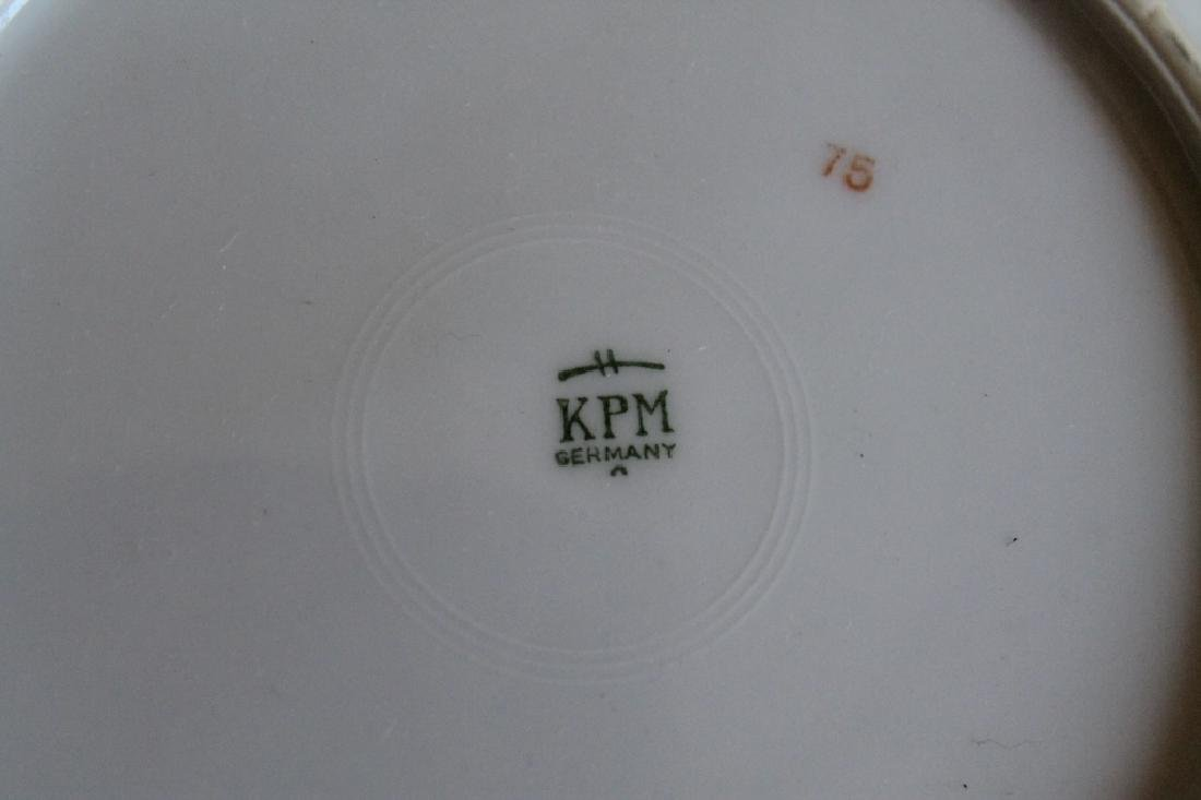 Large KPM Germany China Set - 5