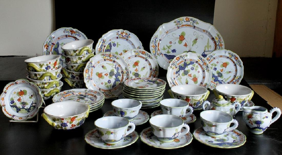 Large Sigma Carnation China Set
