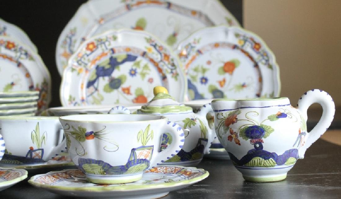 Large Sigma Carnation China Set - 3
