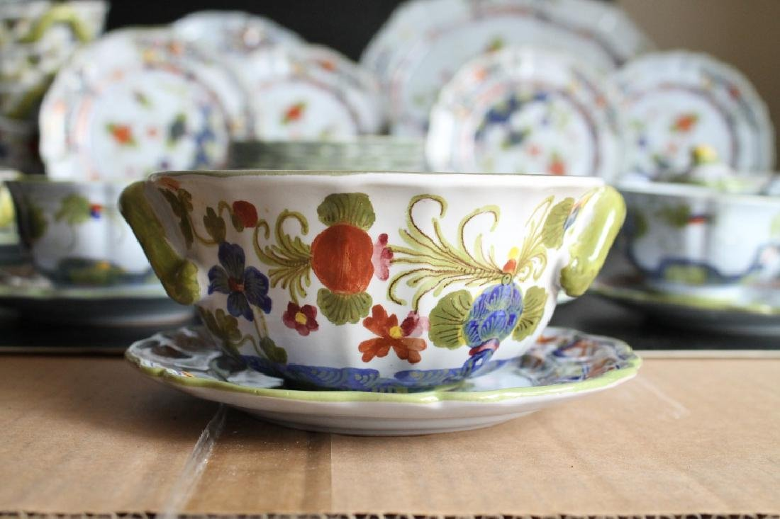 Large Sigma Carnation China Set - 4