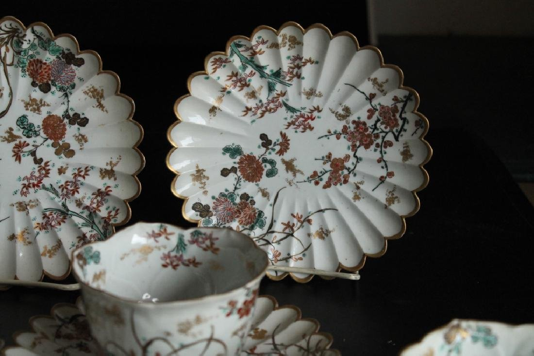 A Group of Antique Cups and Saucers - 3