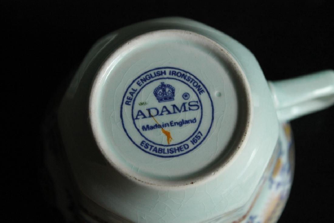 Large Adams Shalimar China Set - 7