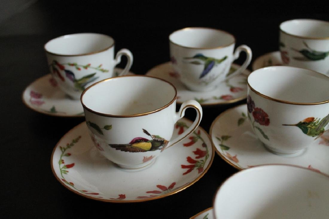 A Group of Antique Cups and Saucers - 6