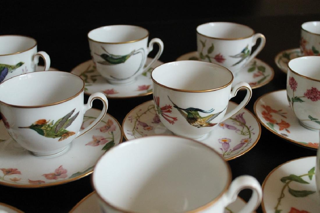 A Group of Antique Cups and Saucers - 7