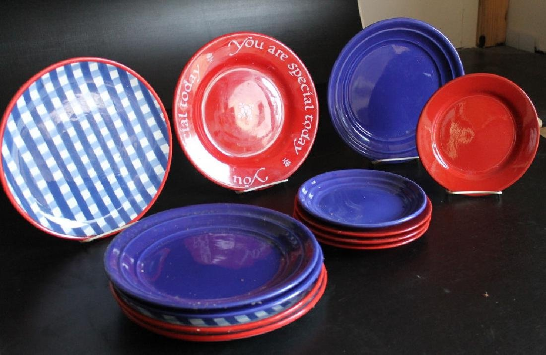 A Group of of Colorful Dishes - 3