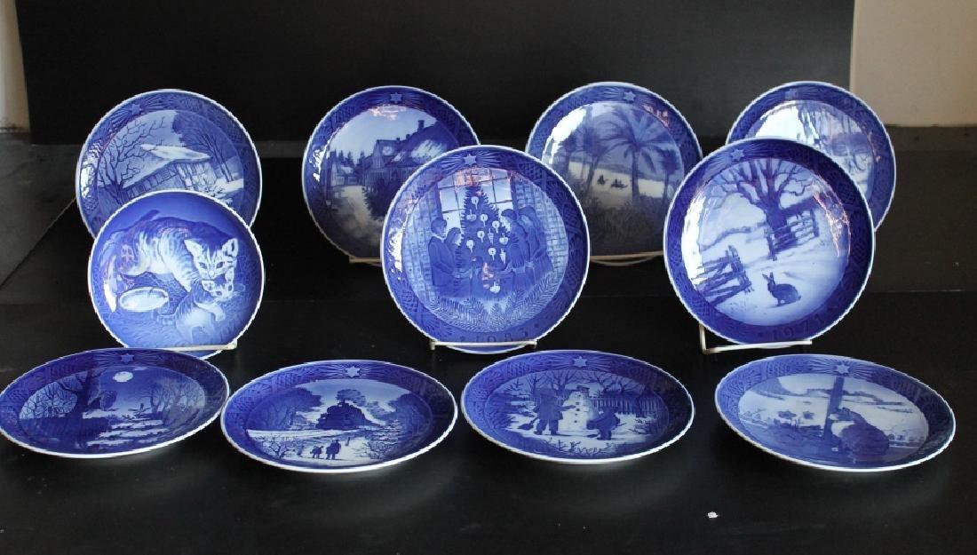 Royal Copenhagen Plate Set