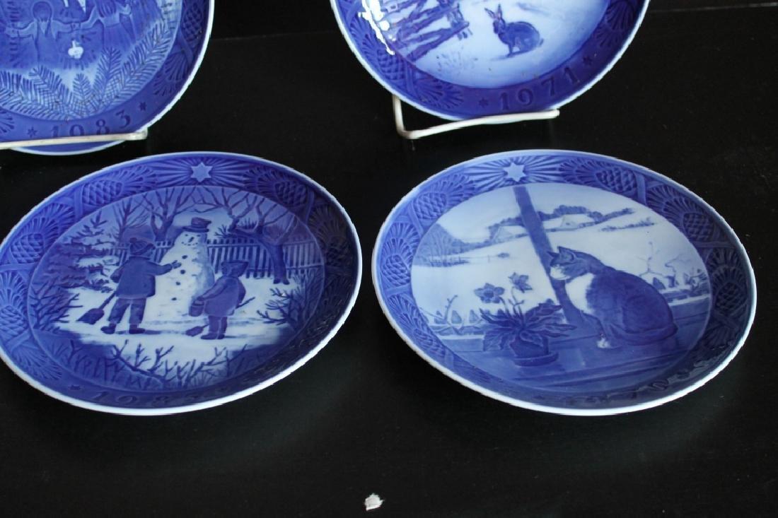 Royal Copenhagen Plate Set - 4
