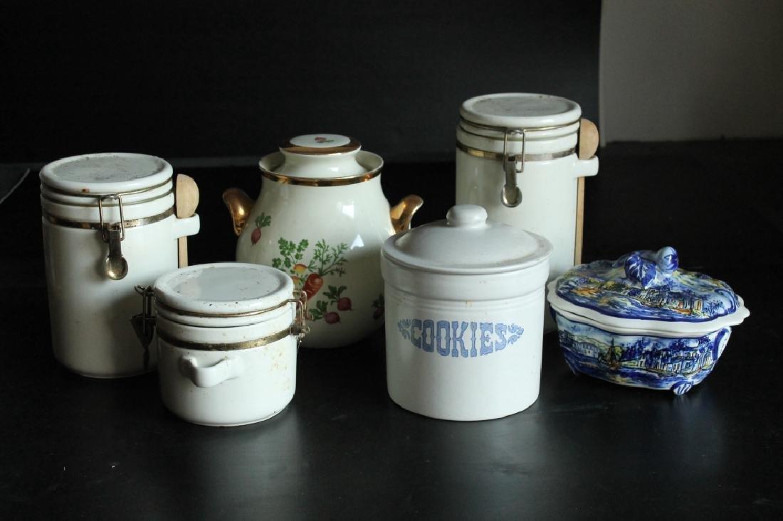 Assorted Porcelain Kitchen Lot
