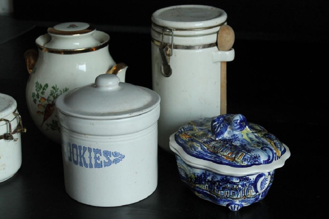 Assorted Porcelain Kitchen Lot - 2