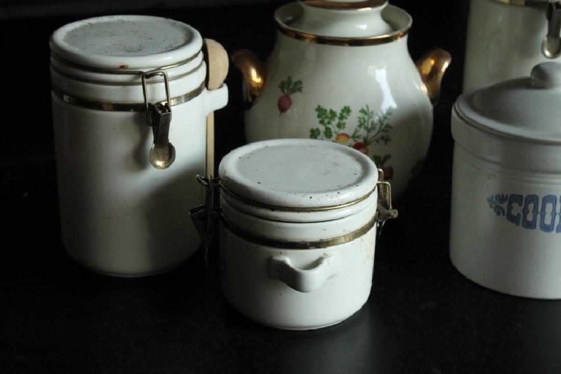 Assorted Porcelain Kitchen Lot - 3