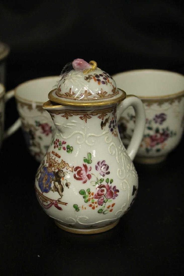 Chinese Exportware Tea Set - 2