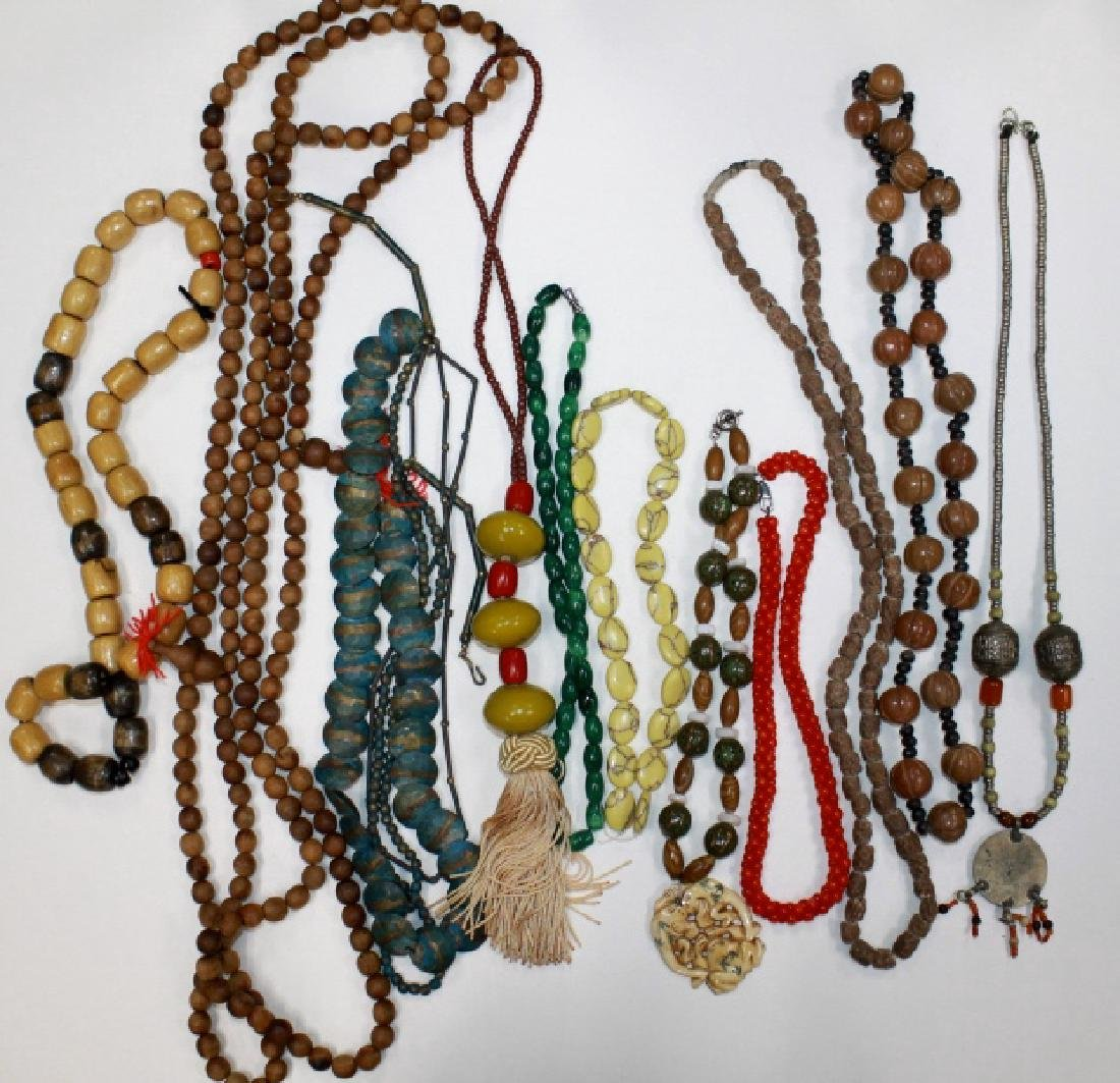 A Group of Various Necklaces