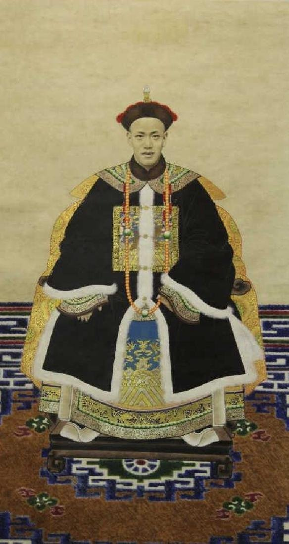 Chinese Painting - Ancestry Painting