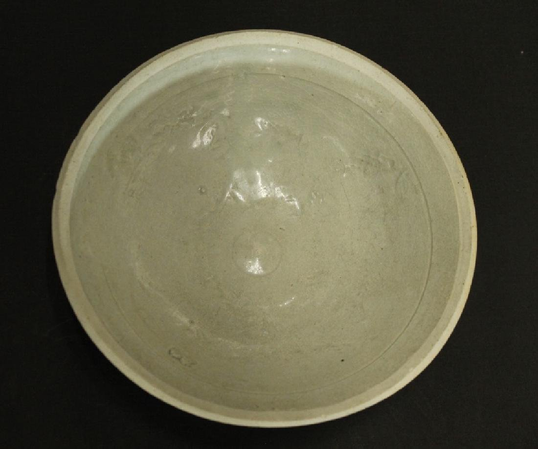 Chinese Celadon Carved Bowl