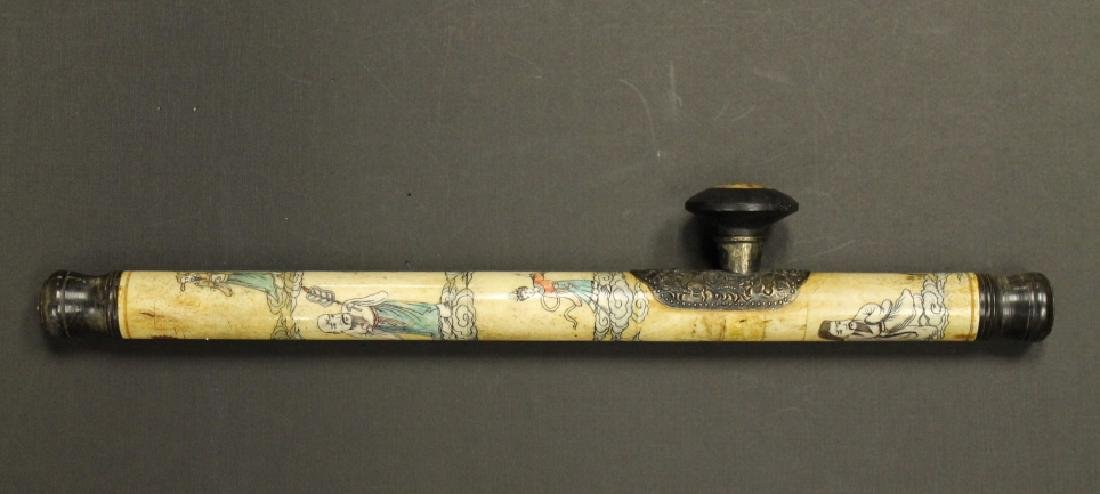 Carved Opium Pipe