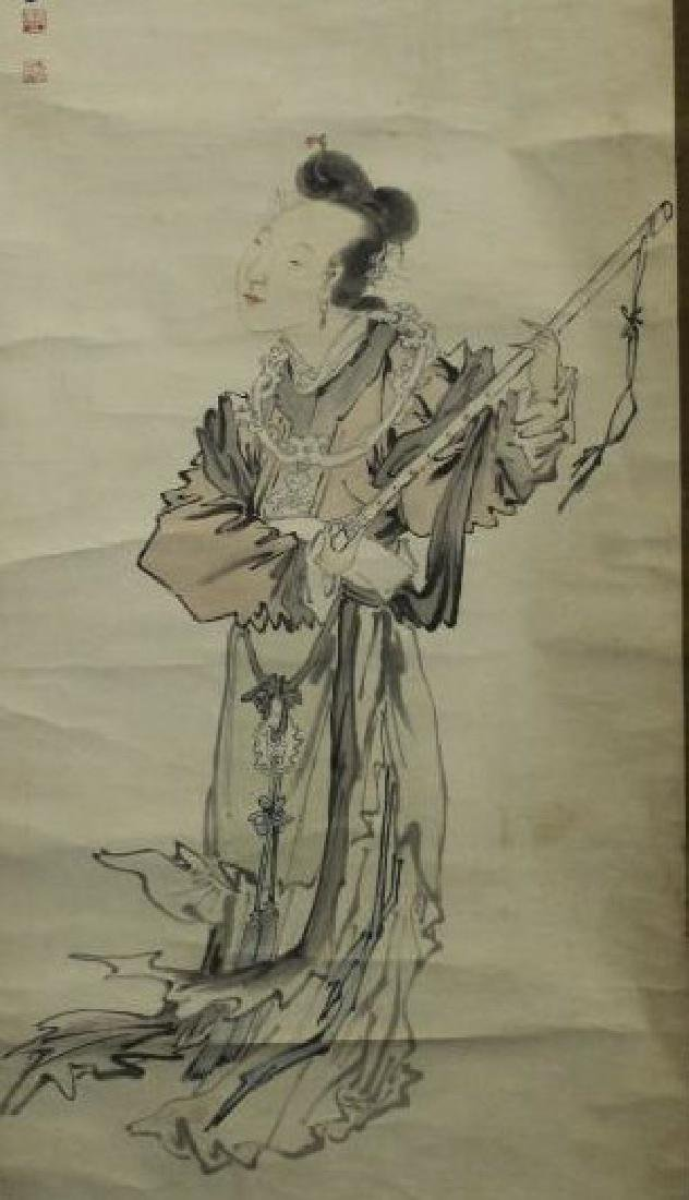 Chinese Painting - Lady - 2