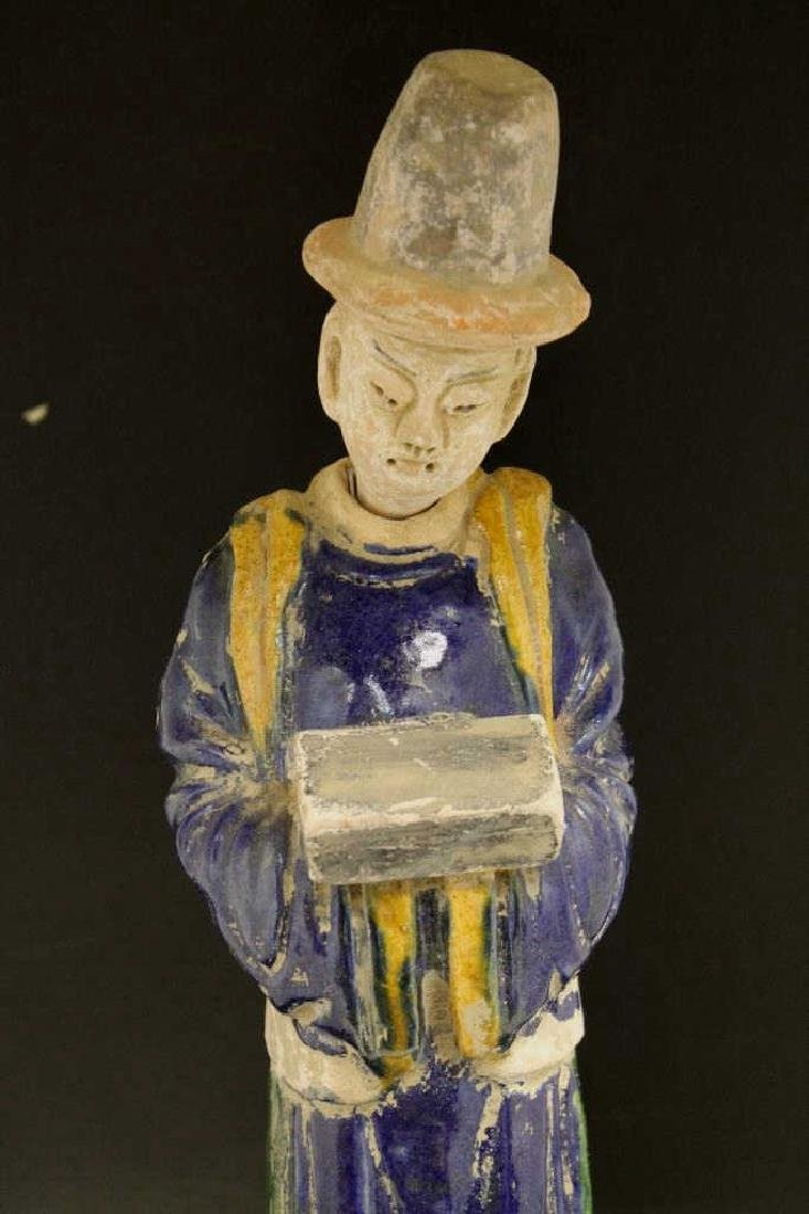 Chinese Pottery Figure - 2