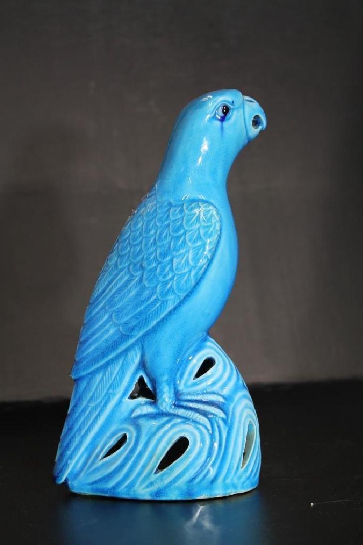Chinese Glazed Porcelain Bird - 2